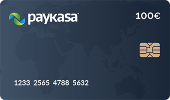 100 Euro Paykasa Kart